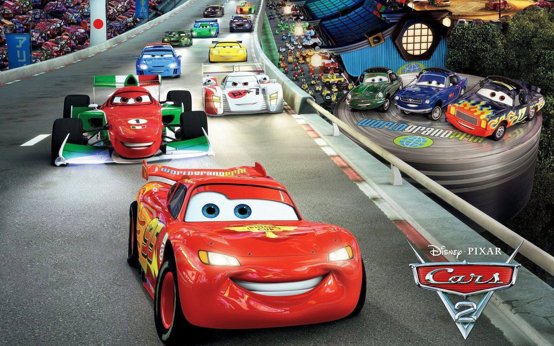 Latest Cars 2 Race Wallpapers Hd Wallpapers Id 9744 Free Download Original 1024 x 768