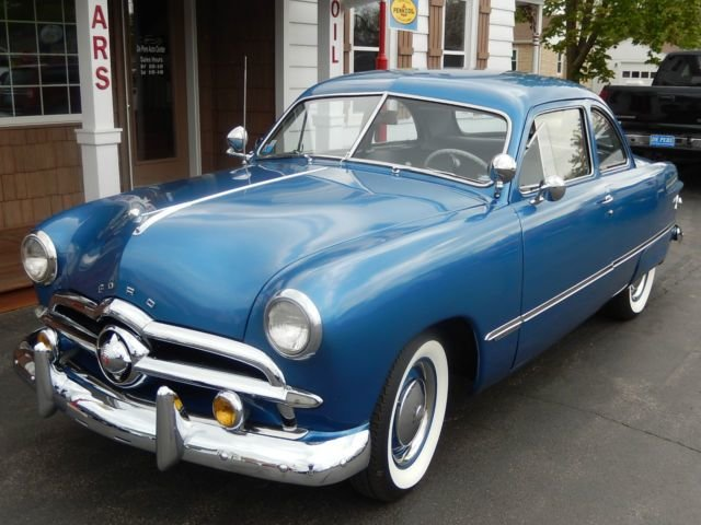 Latest Classic 1949 49 Ford 2 Door Custom Coupe V8 Manual For Free Download
