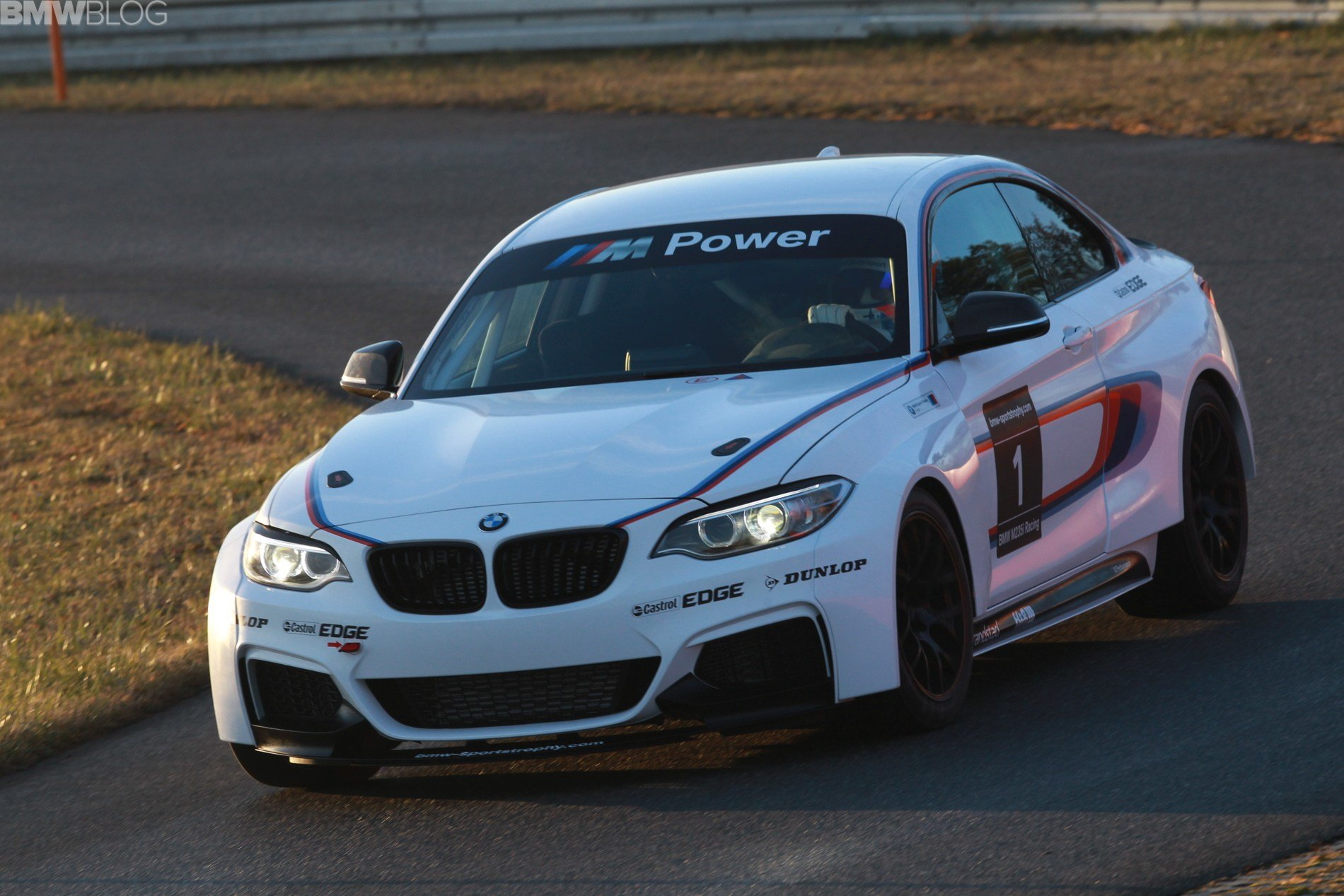 Latest Bmw M235I Racing Car First Exclusive Photos Free Download