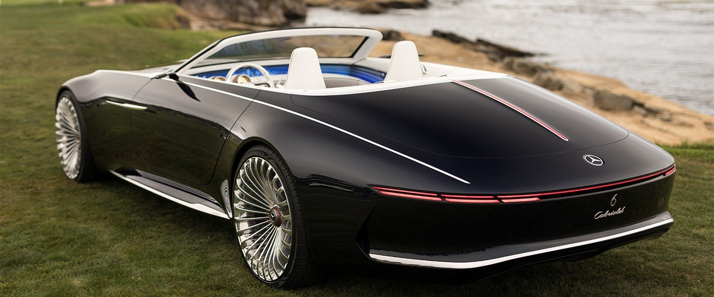 Latest Mercedes Maybach Reveals New Futuristic Convertible Free Download