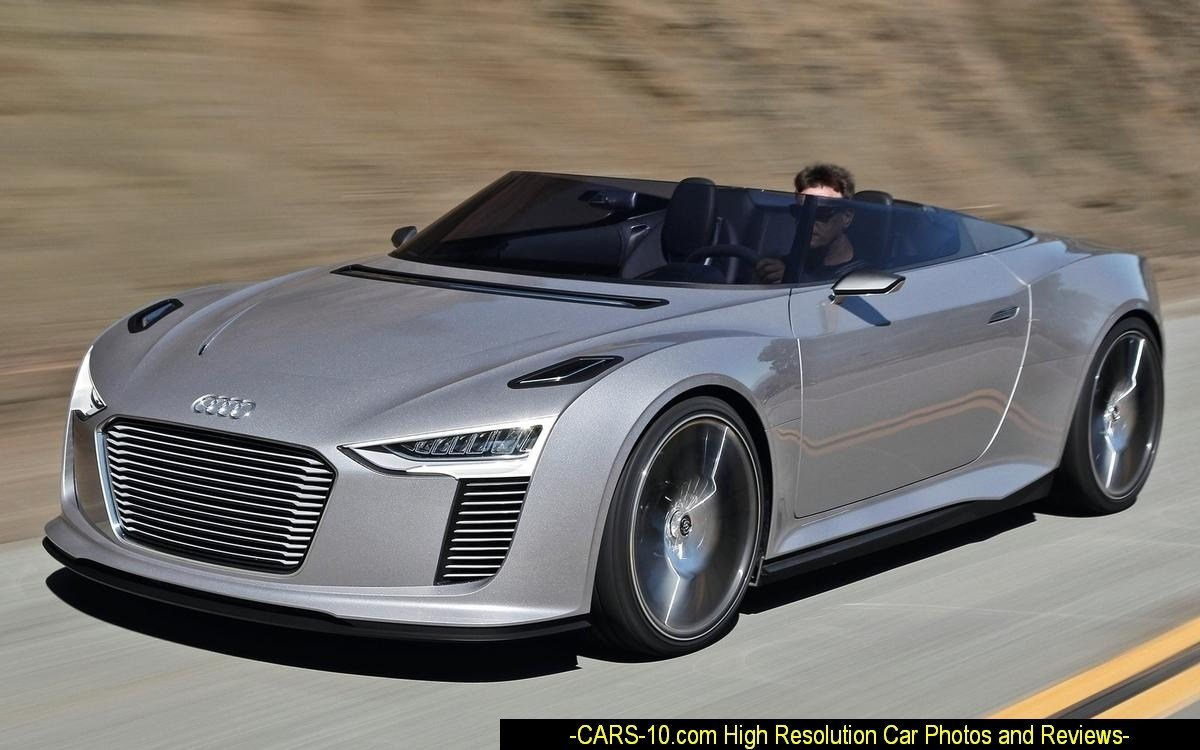 Latest Ø Audi E Tron Spyder Concept Is A Study Of An Open Sports Free Download
