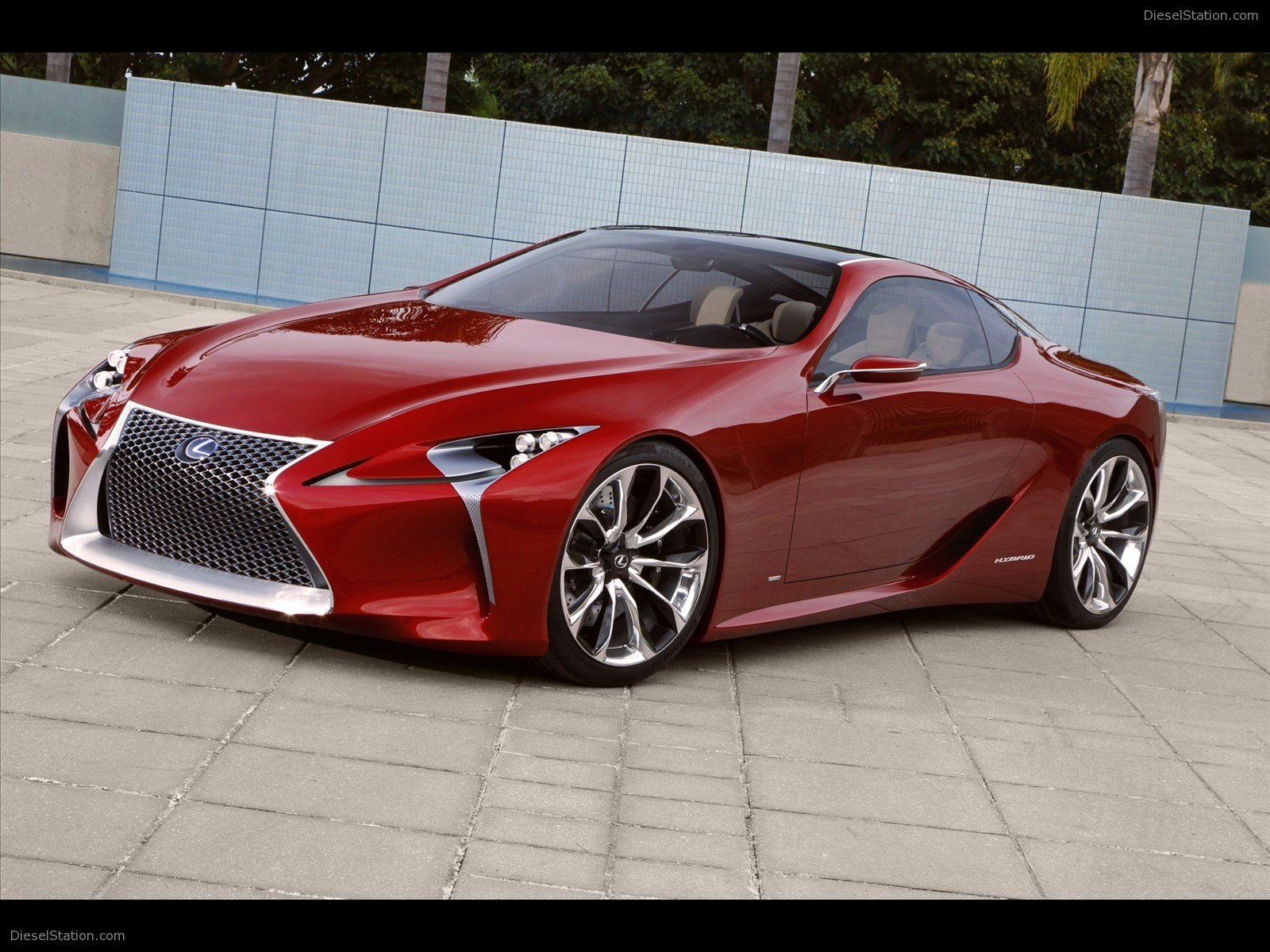 Latest Lexus Lf Lc Sports Coupe Concept 2012 Exotic Car Pictures Free Download