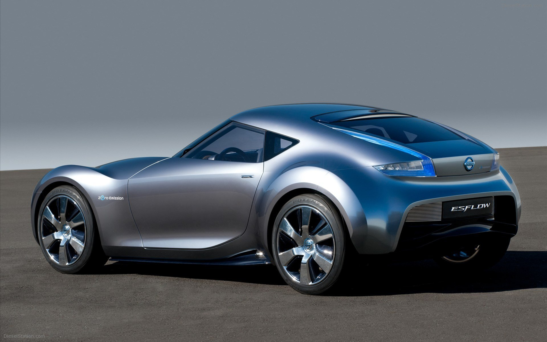 Latest Nissan Esflow Electric Concept Car 2011 Widescreen Exotic Free Download
