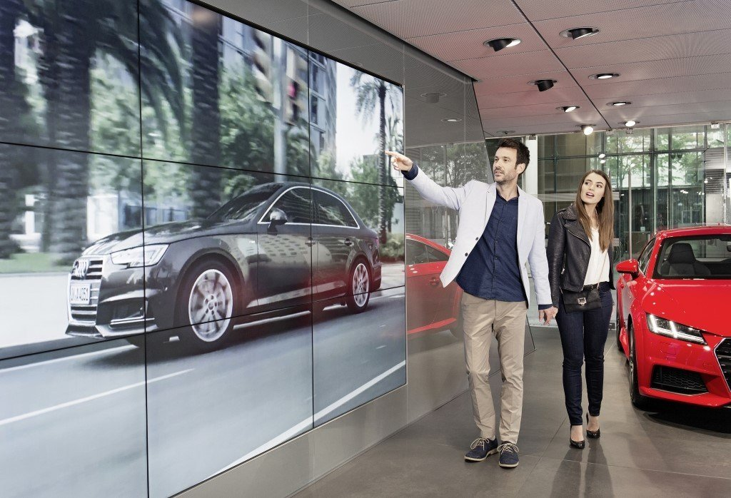 Latest Audi City Paris Welcome To The Car Showroom Of The Future Free Download