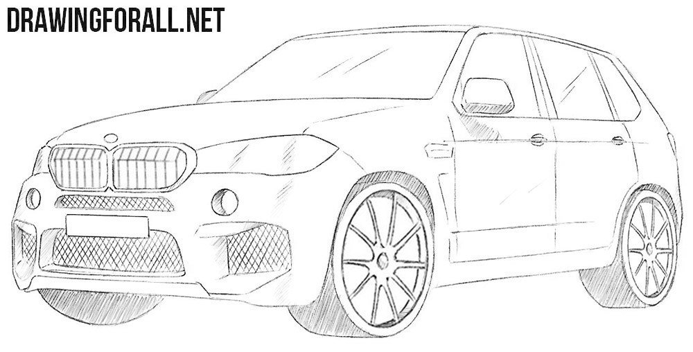 Latest How To Draw A Bmw X5 Drawingforall Net Free Download