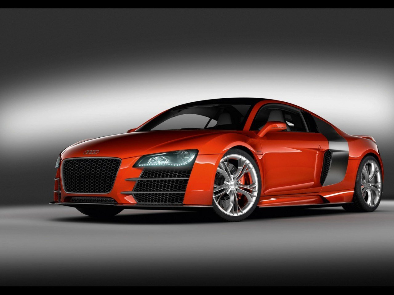 Latest Cool Red Audi Sports Car Desktop Hd Wallpapers Free Download