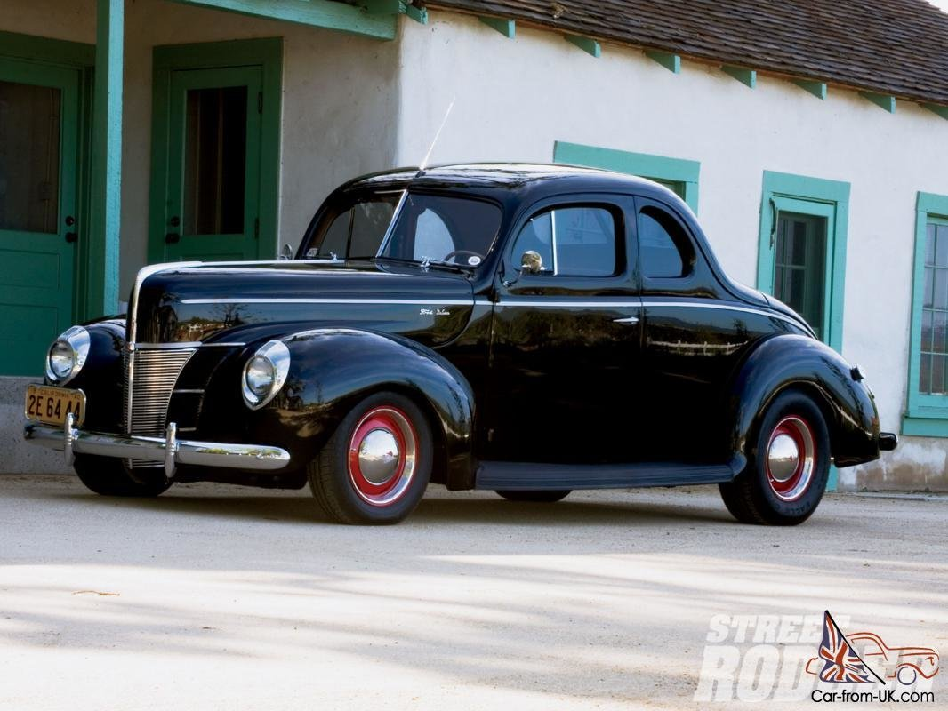 Latest Ford Coupe 1940 Car Classics Free Download Original 1024 x 768