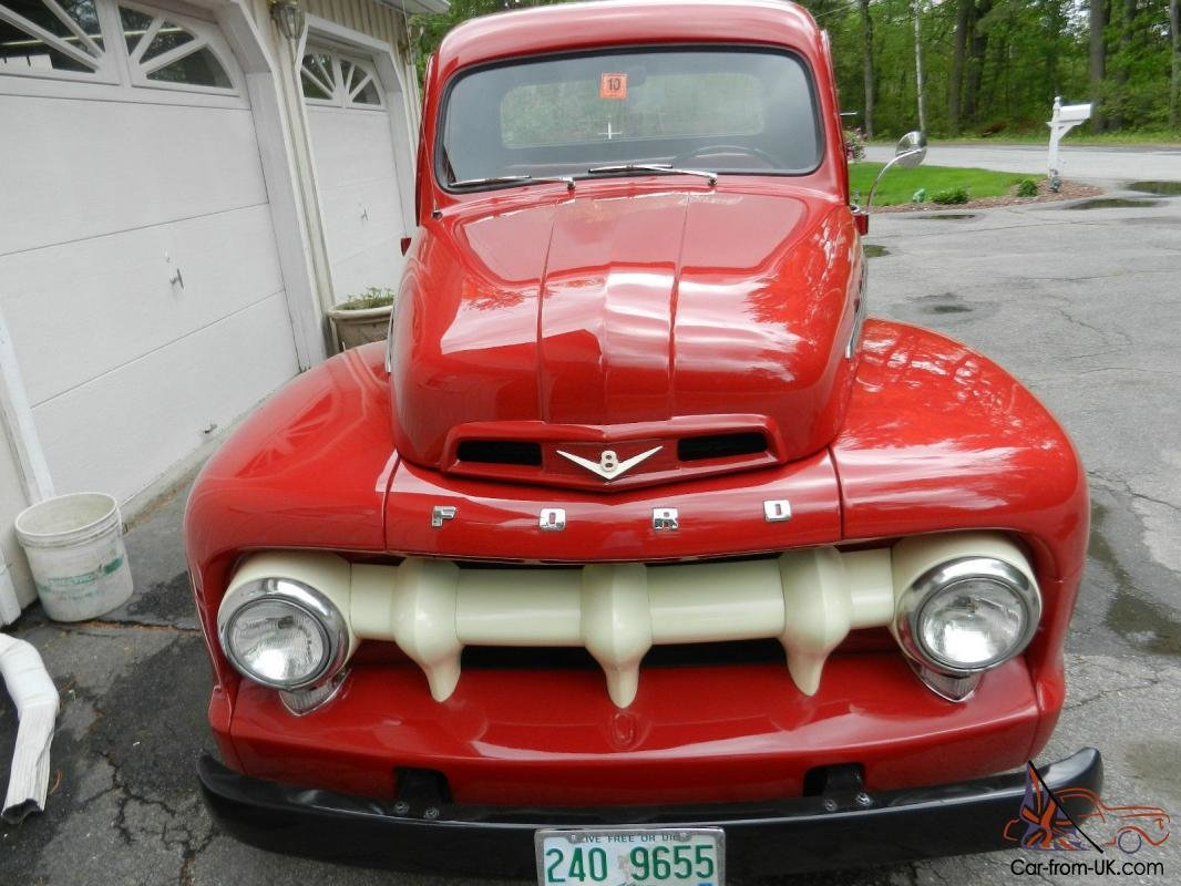 Latest 1951 Ford F100 Hot Rod Free Download