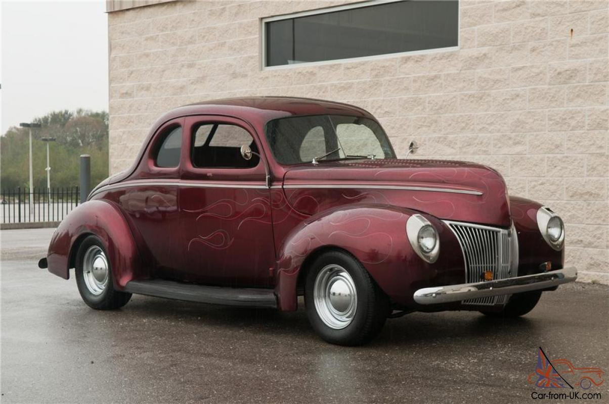 Latest 1940 Ford Custom Coupe Free Download Original 1024 x 768