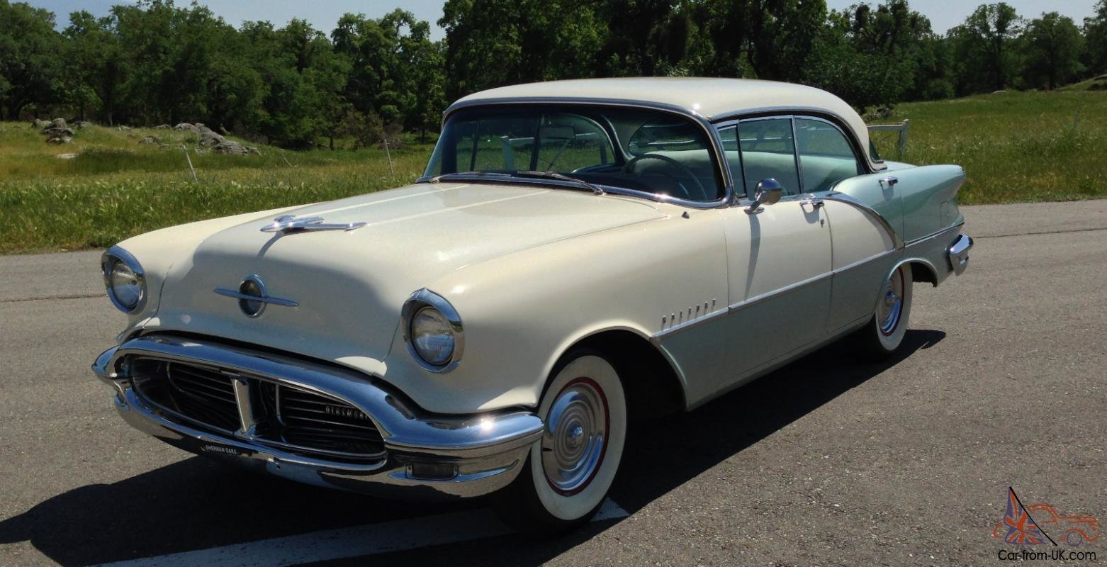 Latest 1956 Oldsmobile Holiday Free Download
