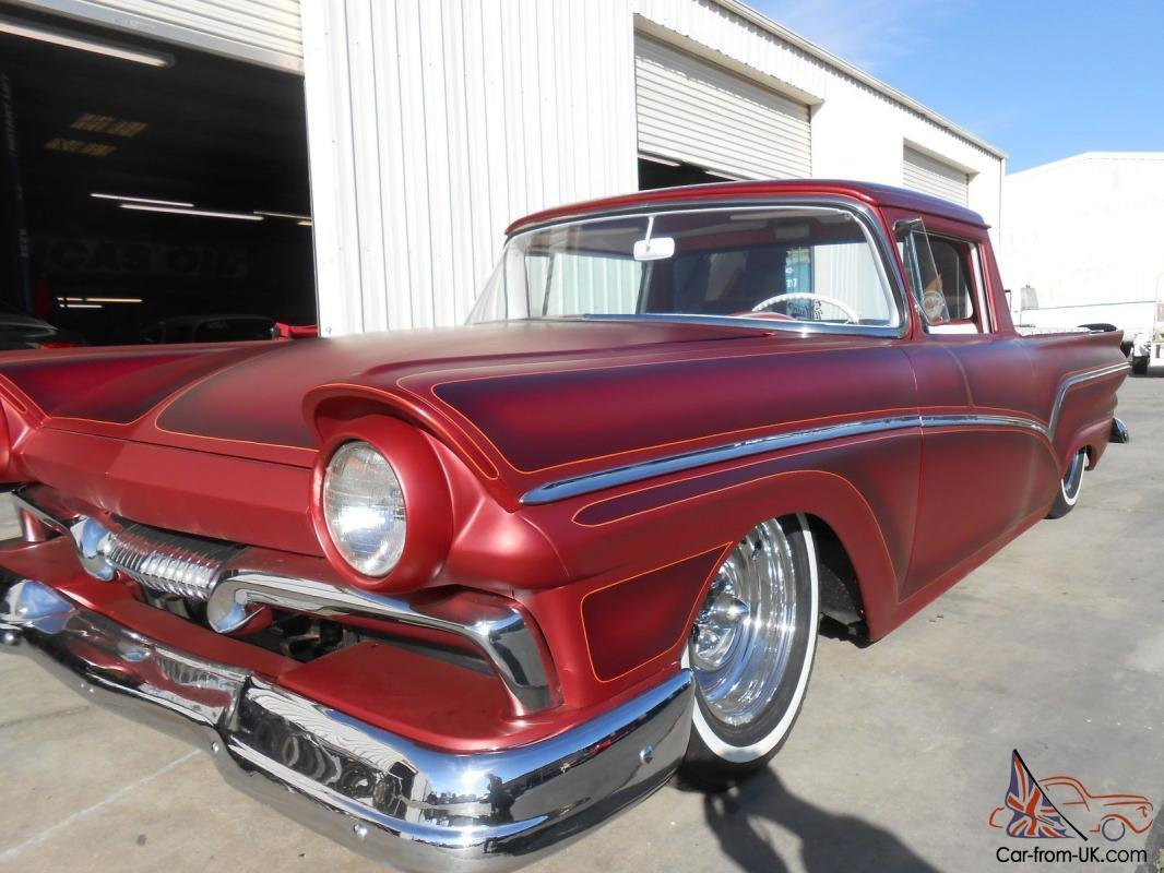 Latest 1957 Ford Rancho Custom Hot Rod Crusier Free Download