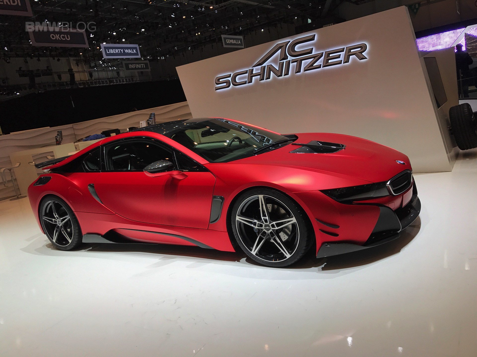 Latest Ac Schnitzer Brings The Bmw I8 And M240I At The 2017 Free Download