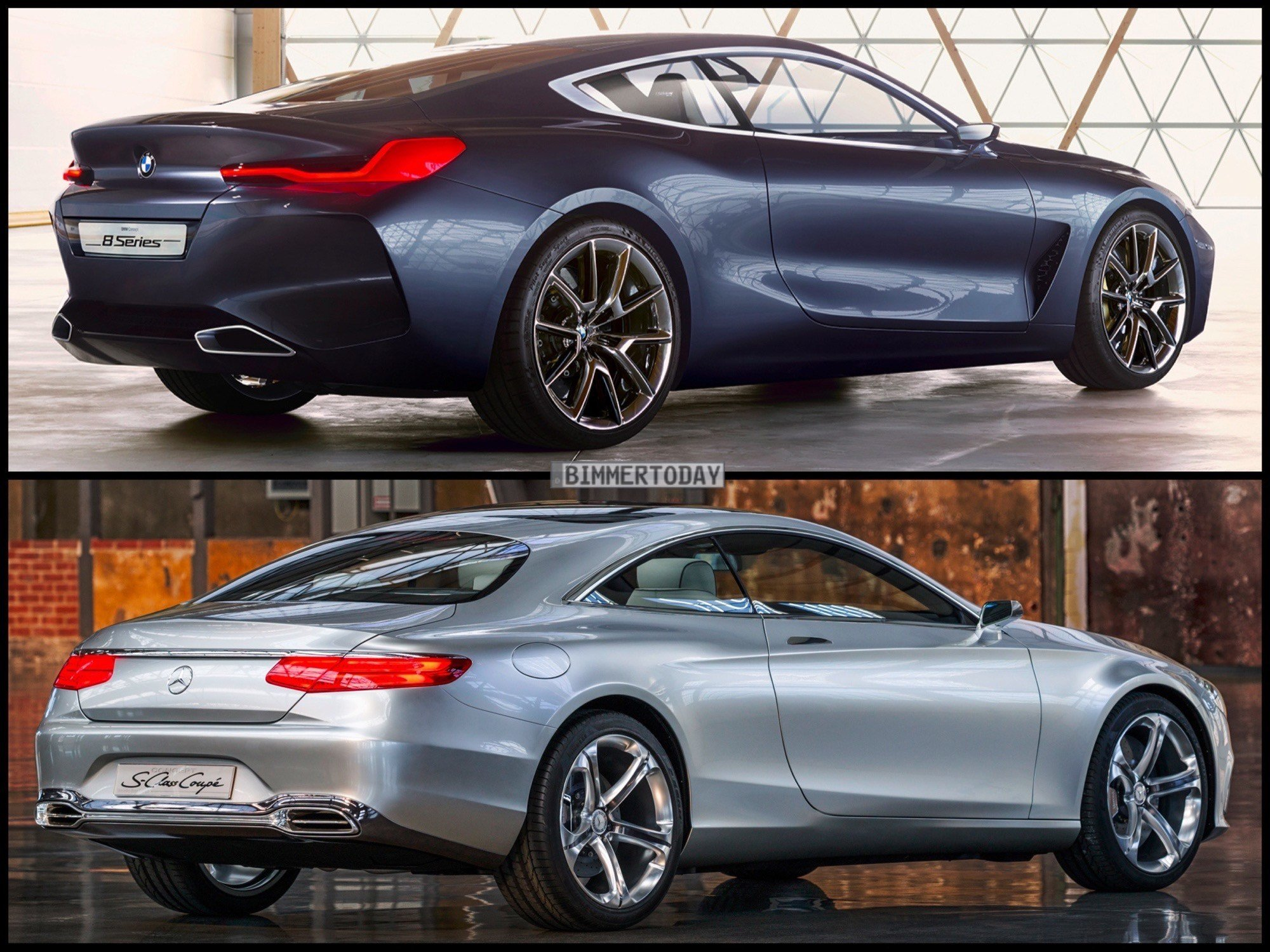 Latest Photo Comparison Bmw 8 Series Concept Vs Mercedes Benz S Free Download