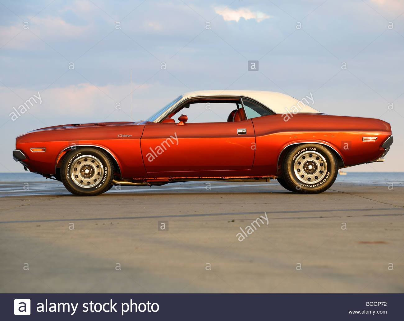 Latest 1970 Dodge Challenger Muscle Car Profile Stock Photo Free Download