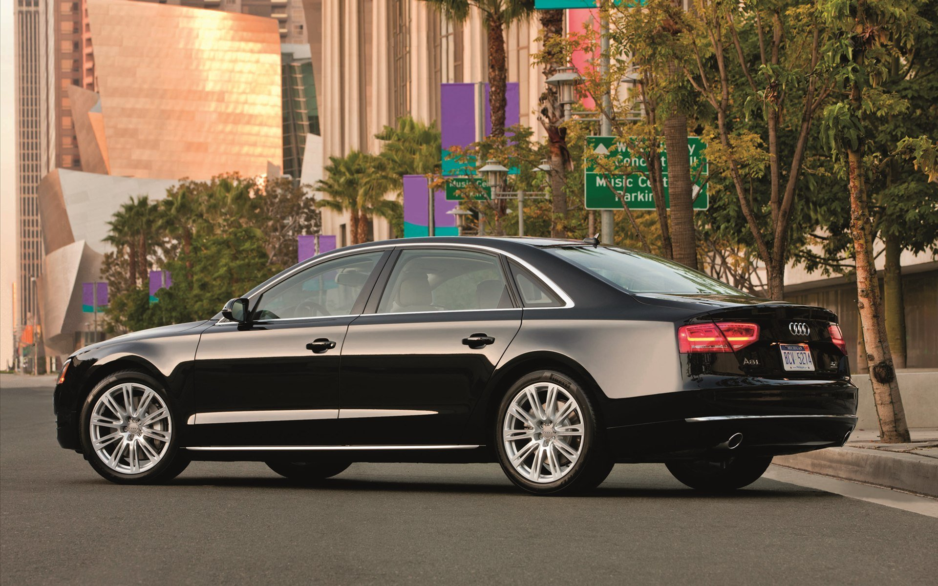 Latest Audi A8 L Hd Wallpaper Full Hd Pictures Free Download