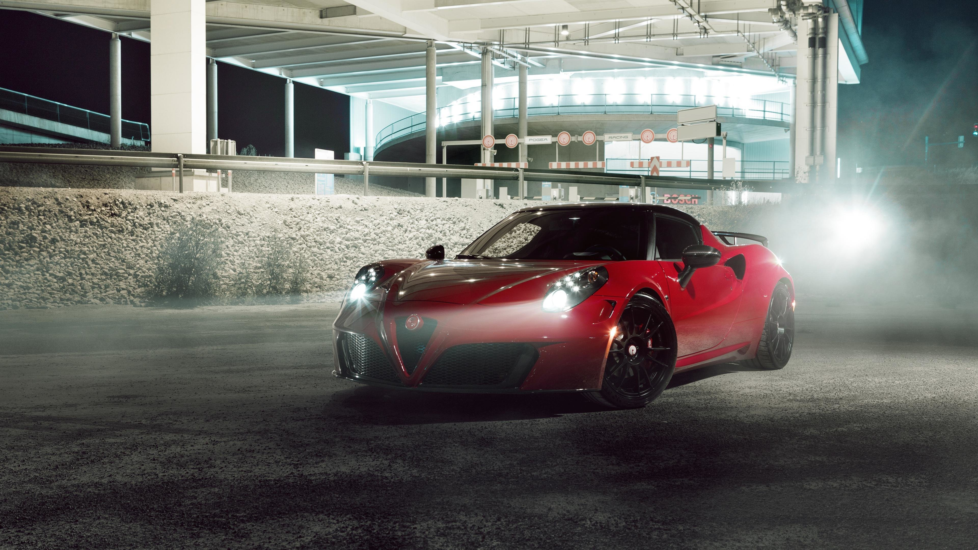 Latest Alfa Romeo 4C By Pogea Racing Hd Cars 4K Wallpapers Free Download