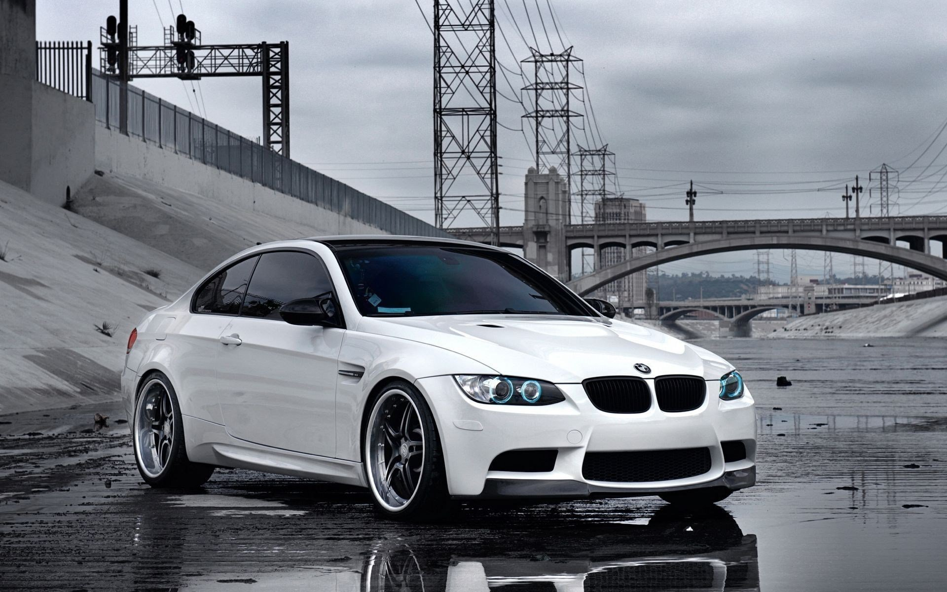 Latest Photos White Bmw Car On Road Size 79119 Hd Wallpapers Free Download