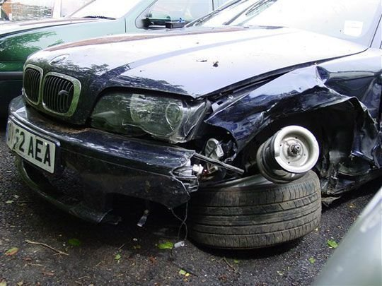 Latest Bmw 530I E60 Sedan Was Involved In A Gruesome High Speed Free Download