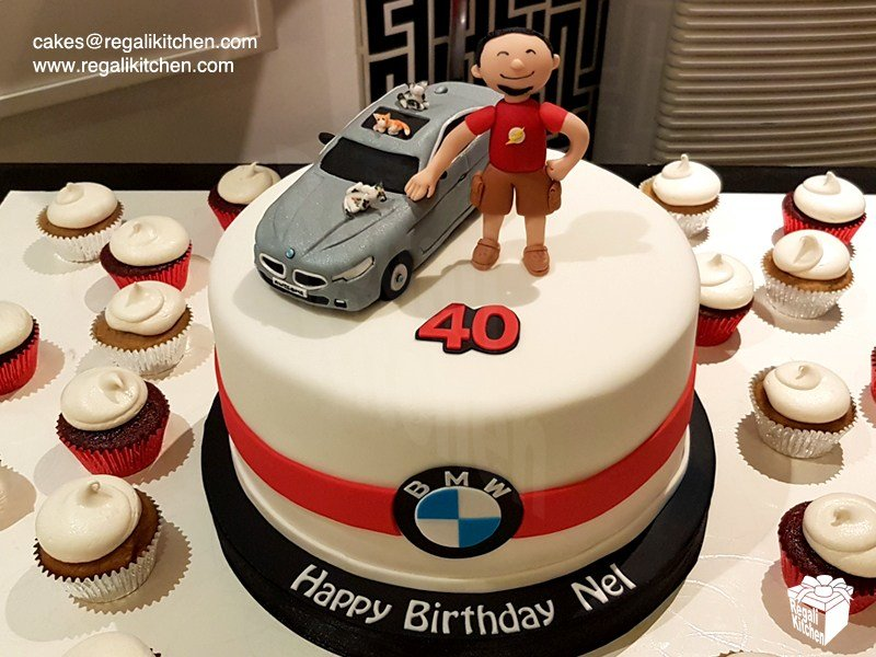 Latest Bmw Car Cake And Cupcakes Cakes By The Regali Kitchen Free Download