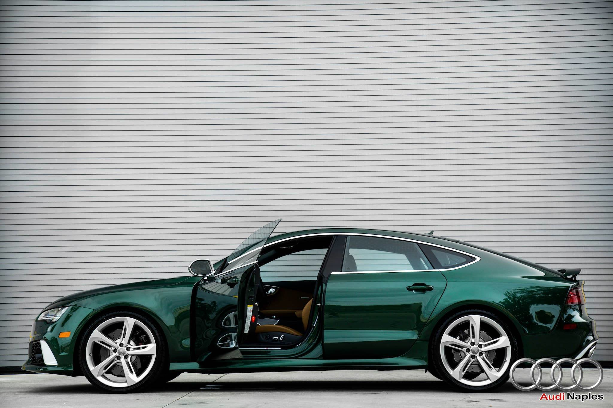 Latest 2016 Audi Rs7 In Verdant Green Looks Like A Bentley Free Download