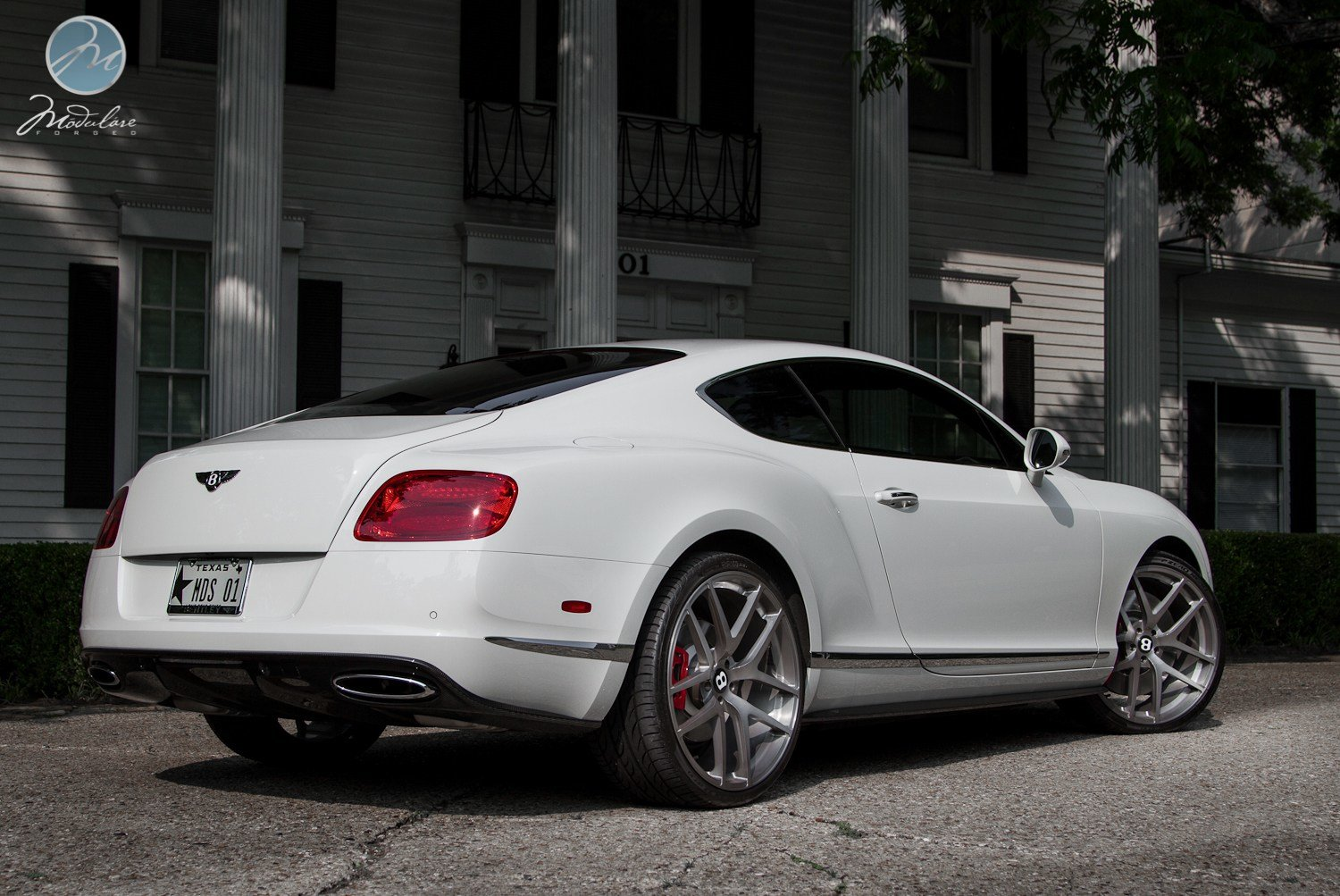 Latest Bentley Continental Gt On 22 Inch Modulare Wheels Free Download