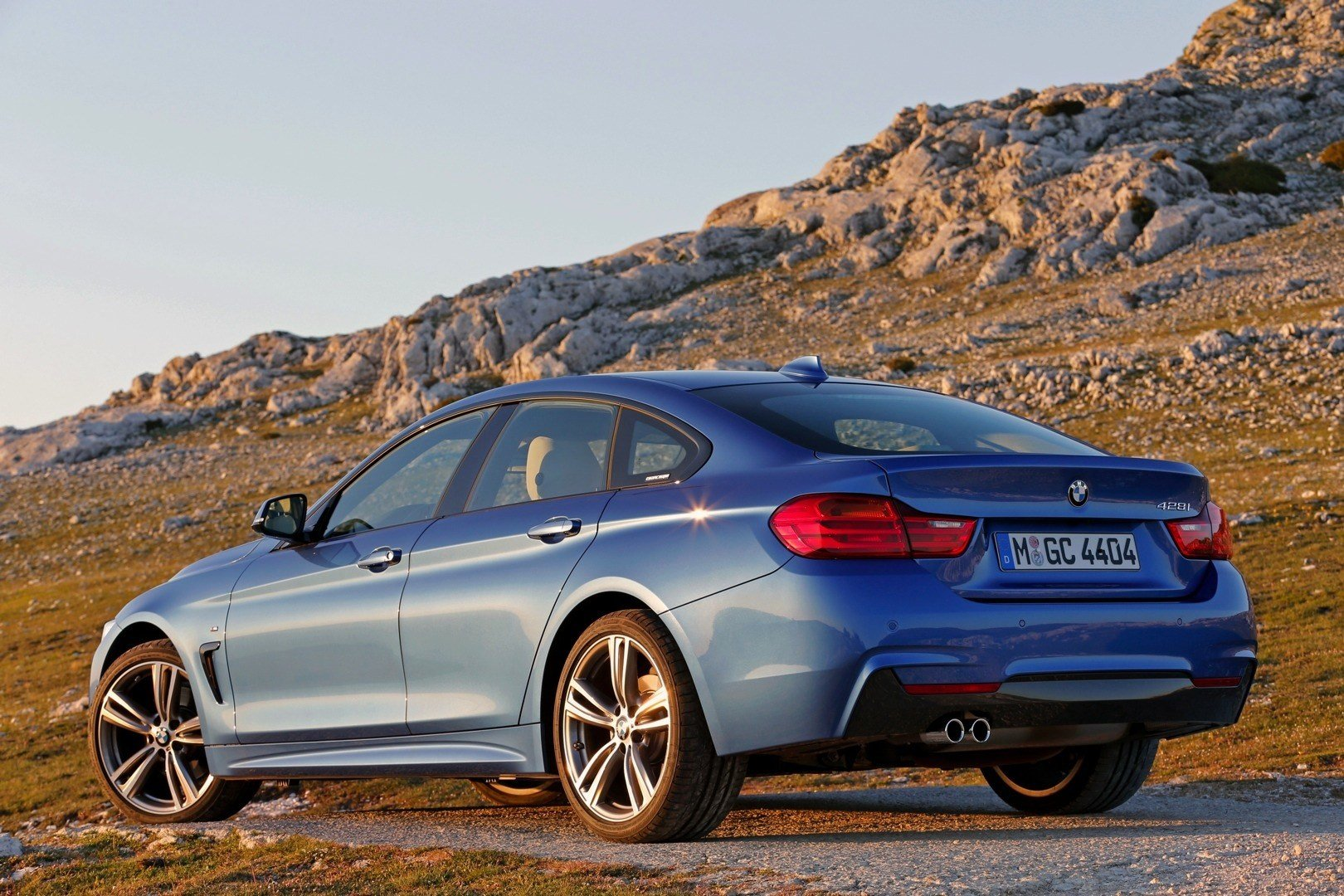 Latest Bmw 428I Gran Coupe Shines Blue In New Official Photos Free Download