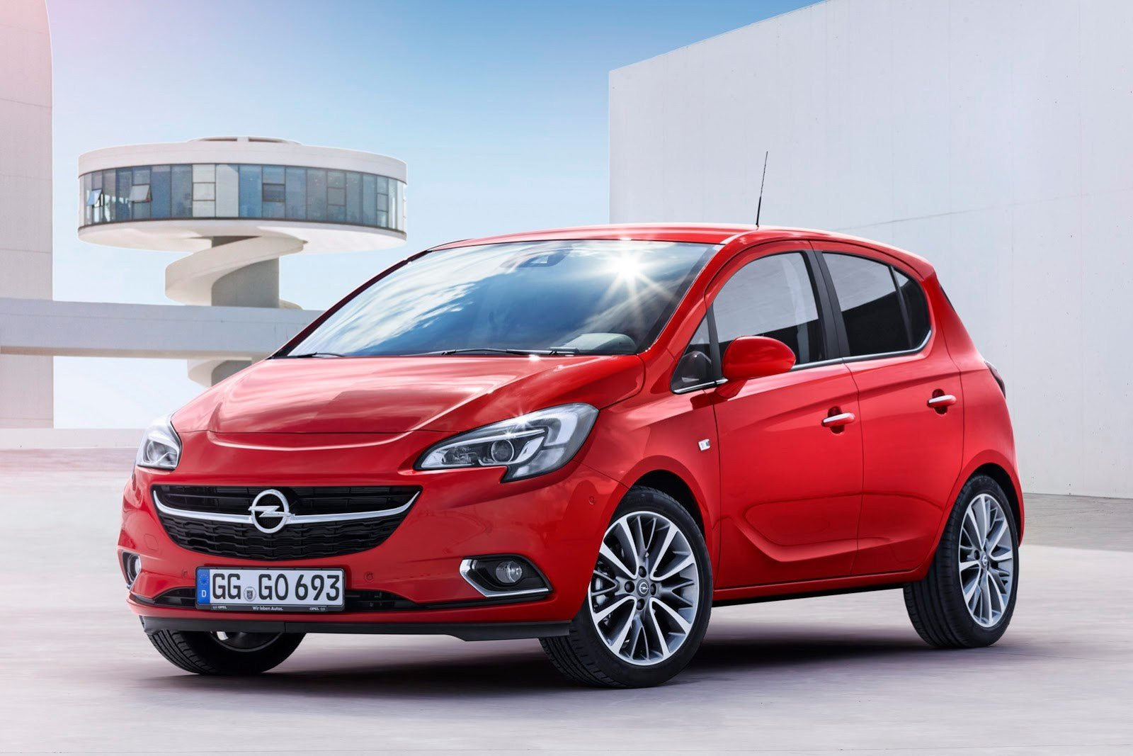 Latest New Opel Vauxhall Corsa Revealed With Adam Inspired Free Download