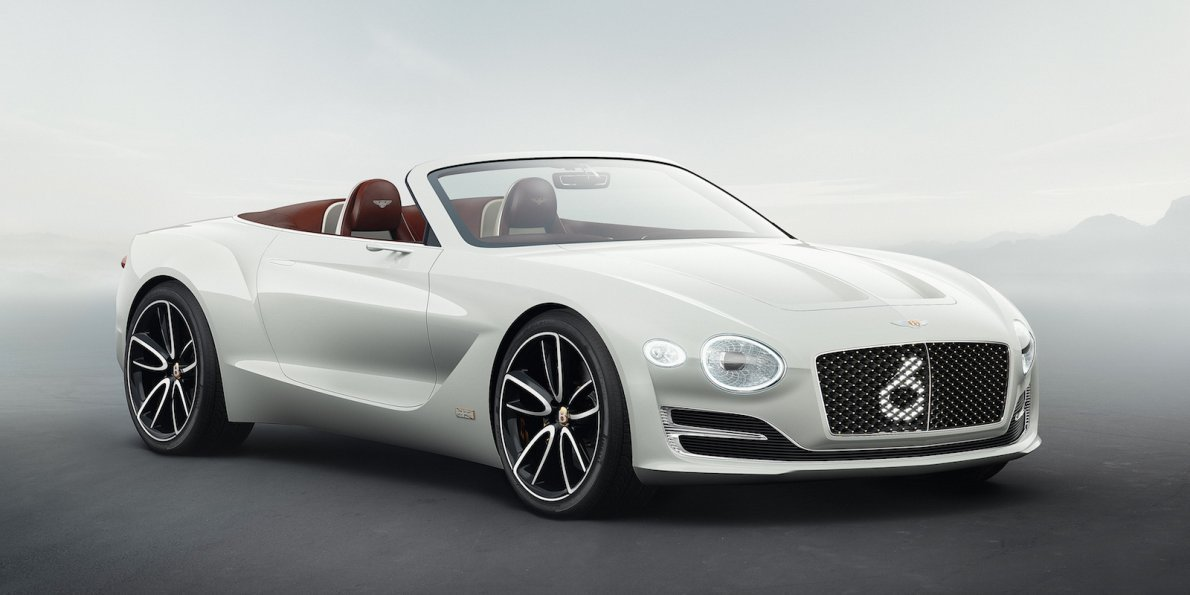 Latest Bentley Unveils First Electric Concept Car Photos Free Download