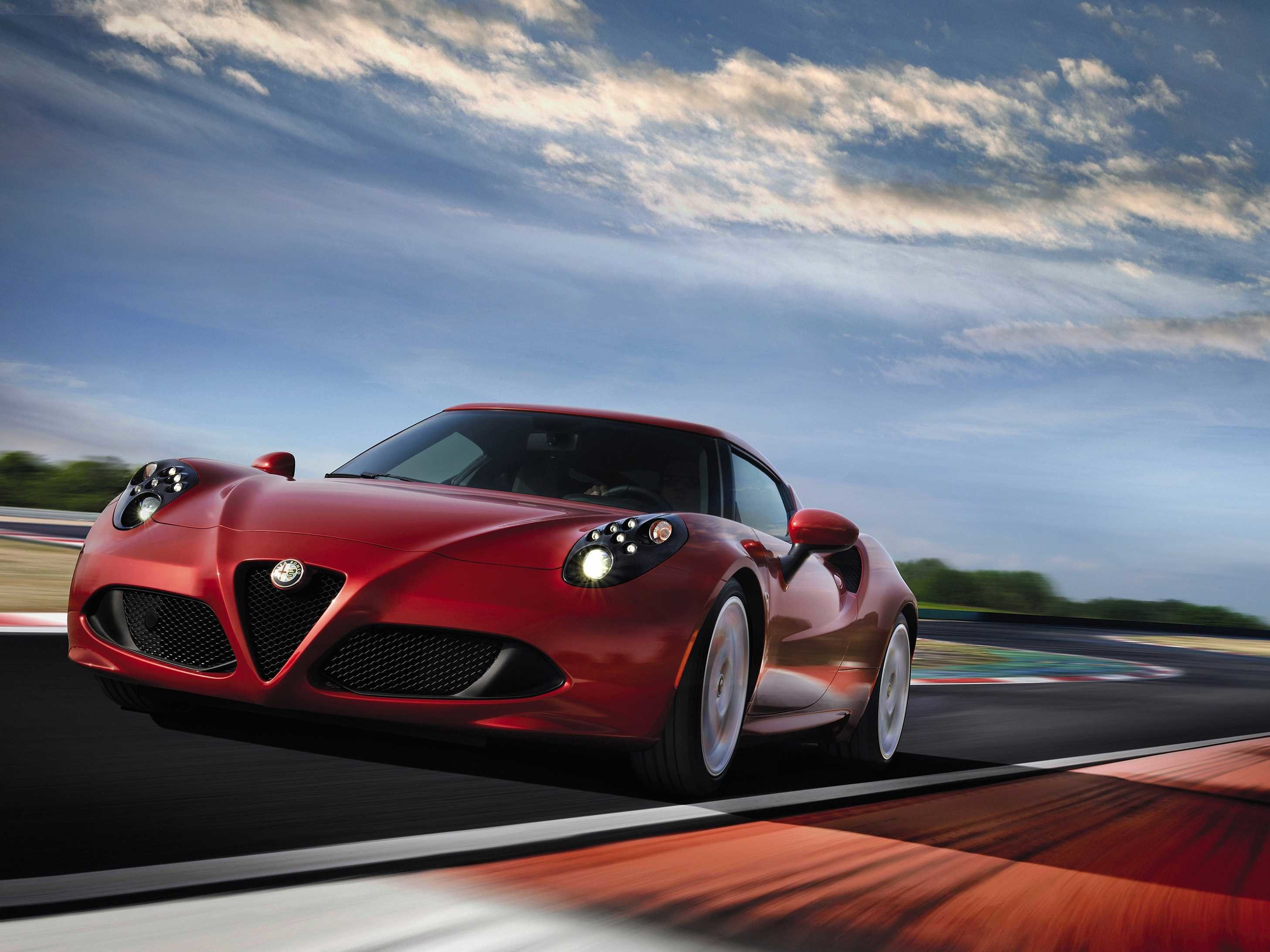 Latest Alfa Romeo 4C Sports Car Reveal Business Insider Free Download