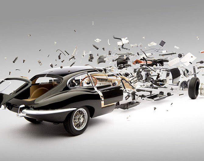Latest Disintegrating Car Prints By Fabian Oefner Necessary Free Download