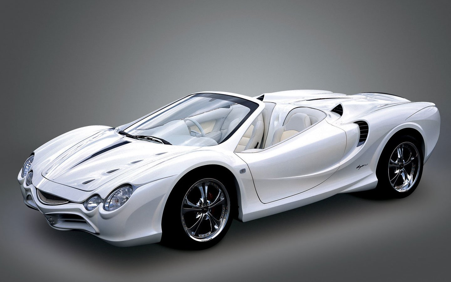 Latest New Mitsuoka Orochi White Supercars Roadster Specification Free Download