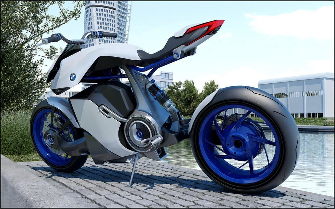 Latest Bmw Hp Kunst Concept Motorcycle The Future Of Bmw Is Free Download