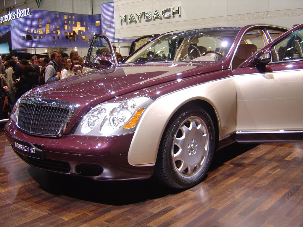 Latest New Car Design Maybach 62 Free Download