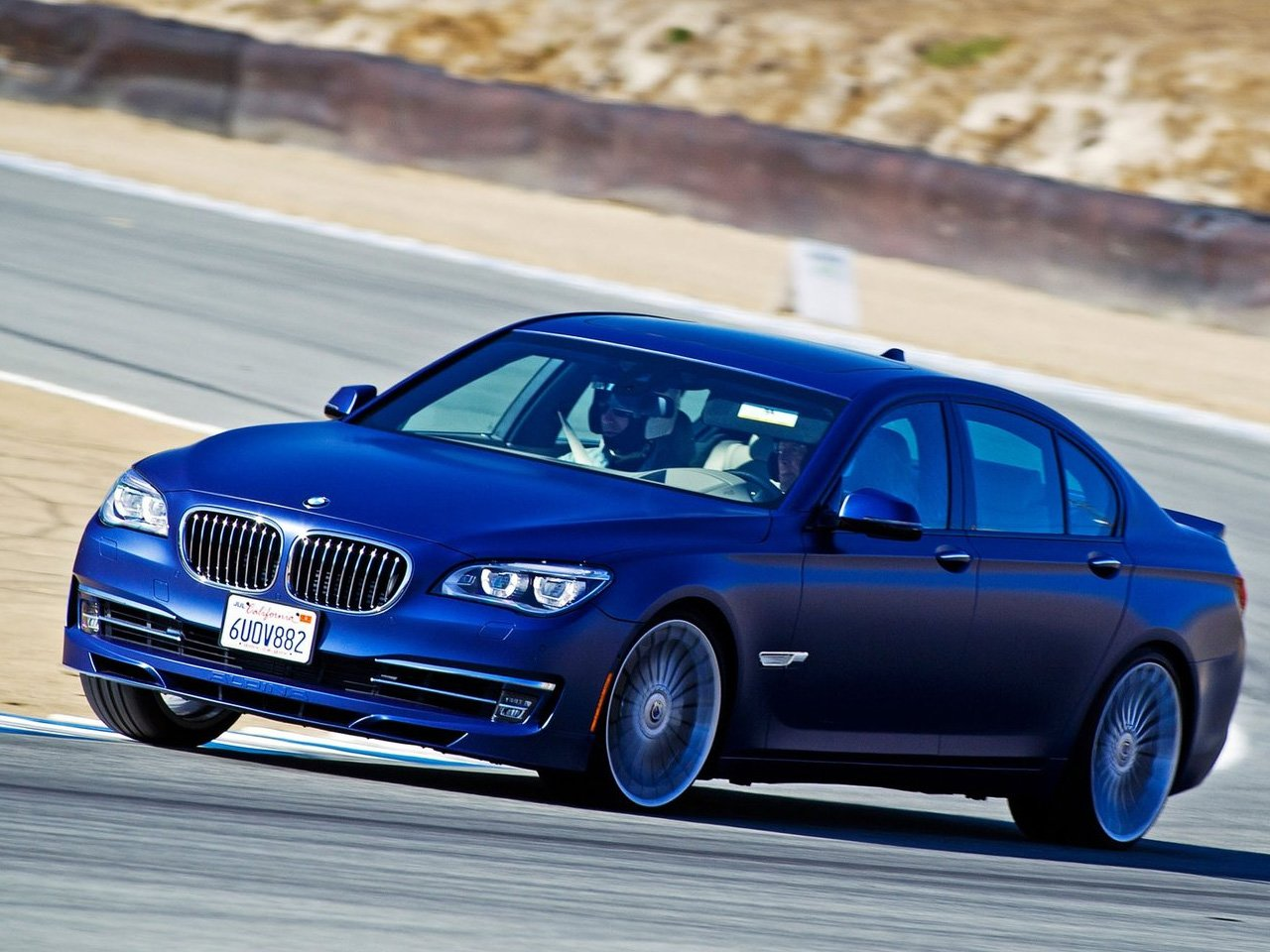 Latest 2013 Alpina Bmw B7 Auto Cars Concept Free Download