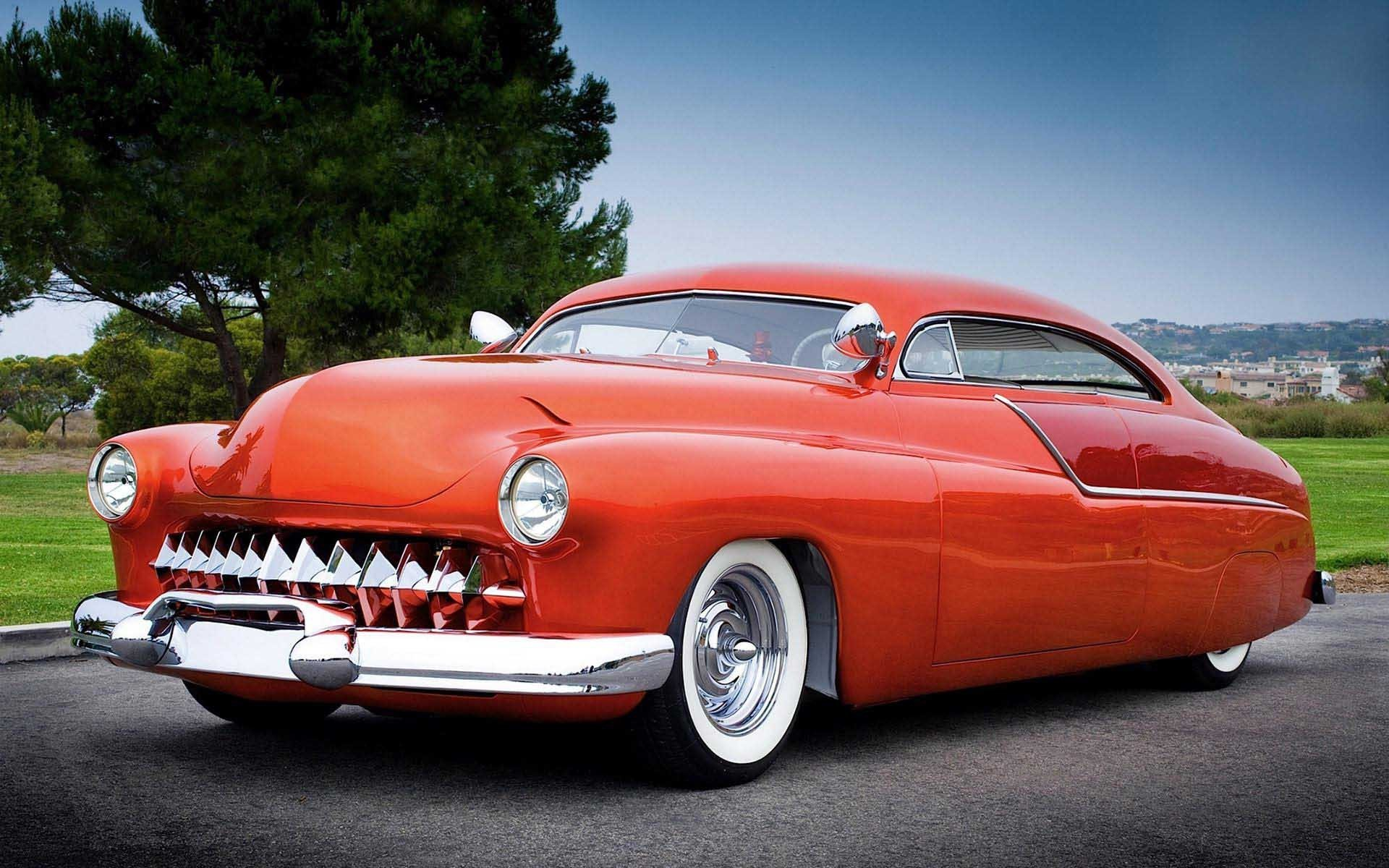Latest Cars 1950 Mercury Eight Computer Wallpaper 1920X1200 Free Download