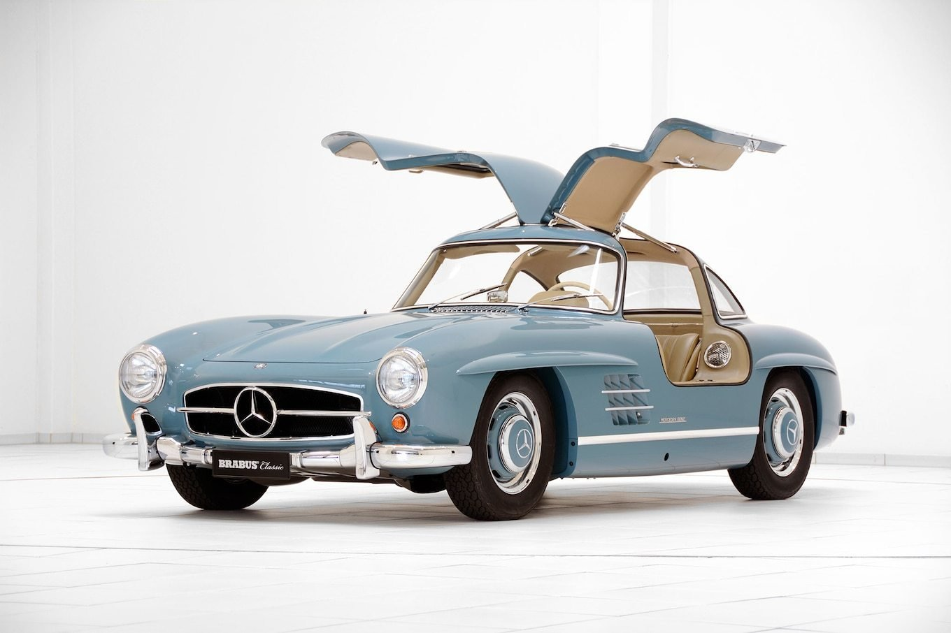 Latest Brabus Promotes Classic Services With Restored Mercedes Free Download Original 1024 x 768