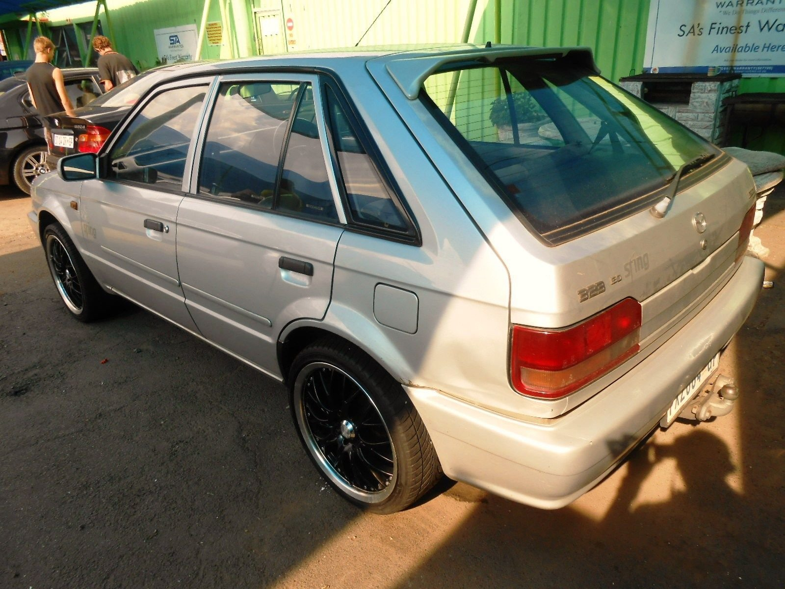 Latest Mazda 323 Fwd 323 130 Sting Sedan For Sale In Roodepoort Free Download