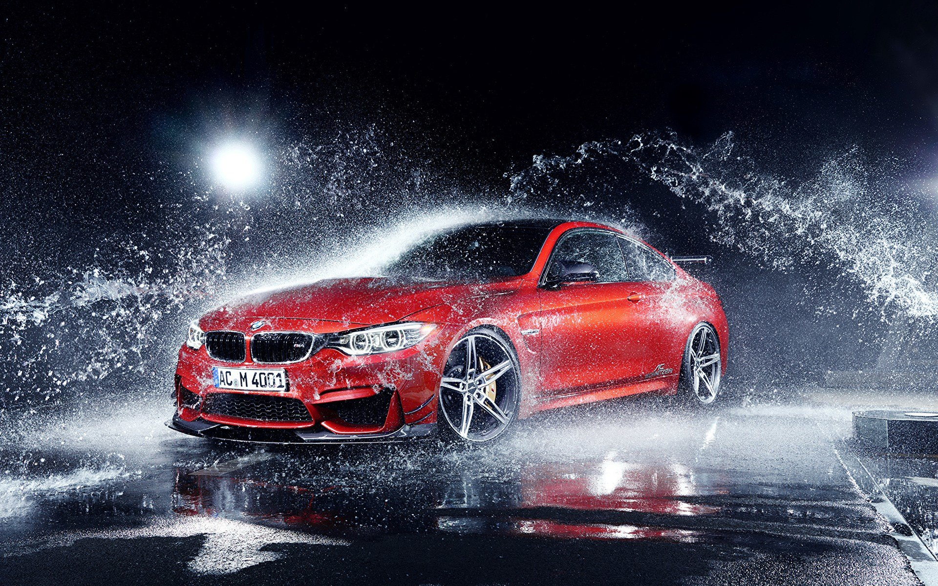 Latest Photo Bmw M4 Coupe F82 By Ac Schnitzer Export Version Red Free Download