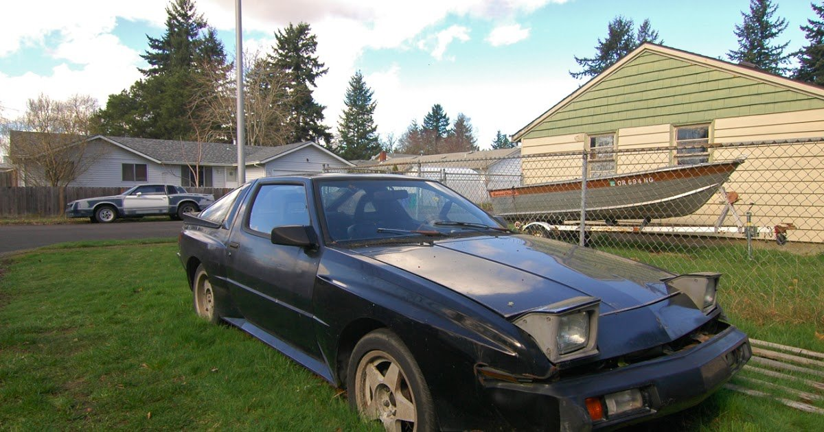 Latest Old Parked Cars 1987 Mitsubishi Starion Esi R Free Download