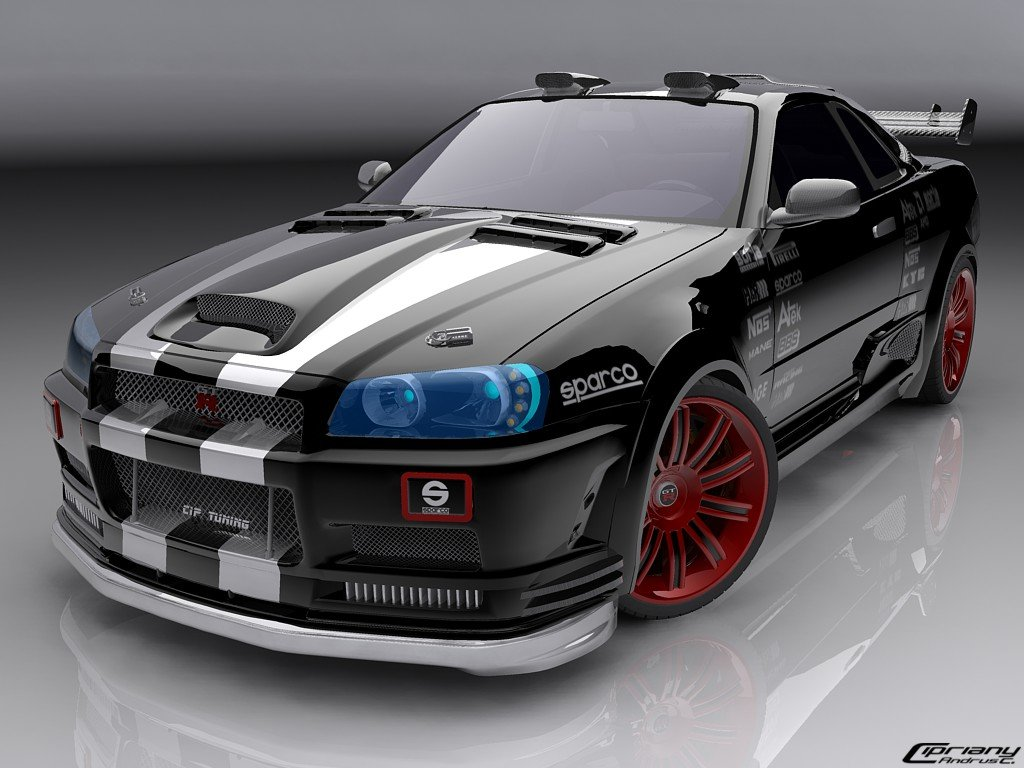 Latest Fast Cars Nissan Skyline Images Wallpapers Free Download