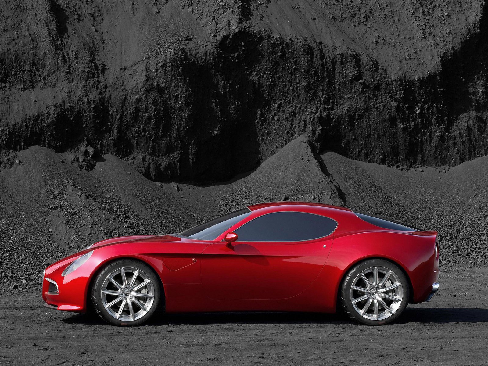 Latest Auto Cars Wallpapers 2013 New 2013 Alfa Romeo 8C Free Download