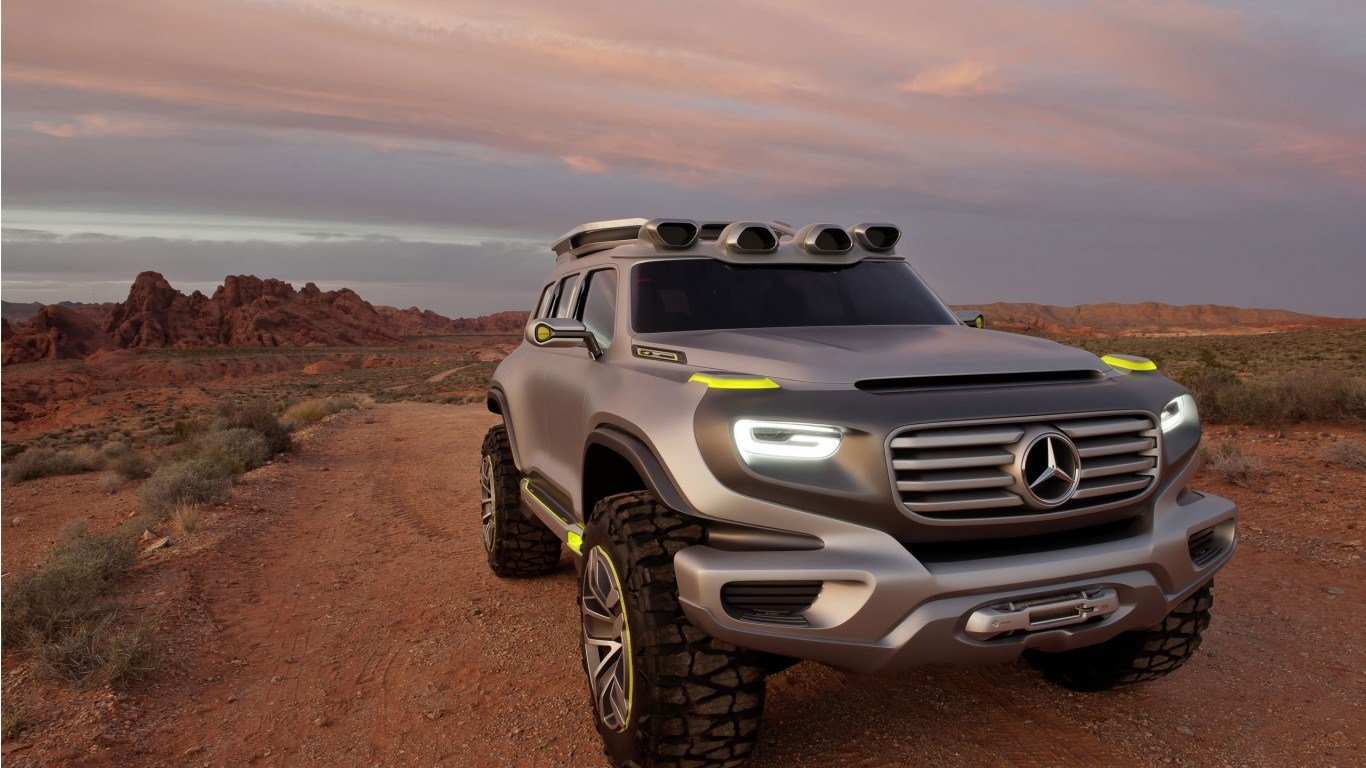 Latest 2014 Mercedes Benz Ener G Force Concept Wallpaper Hd Car Free Download