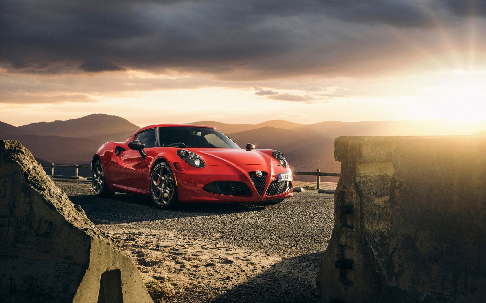 Latest 2015 Alfa Romeo 4C Launch Edition Wallpaper Hd Car Free Download