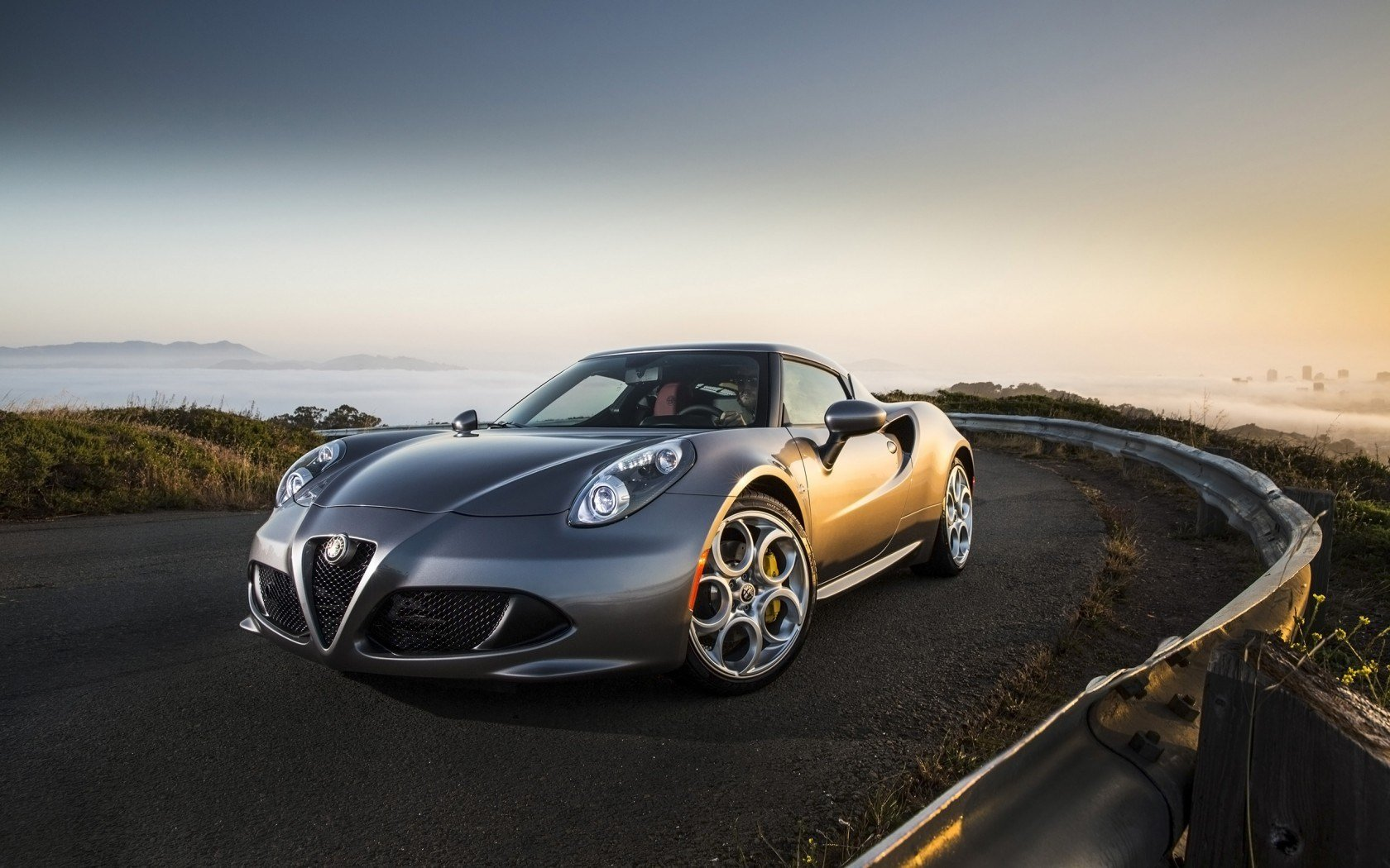 Latest 2015 Alfa Romeo 4C Silver Wallpaper Hd Car Wallpapers Free Download