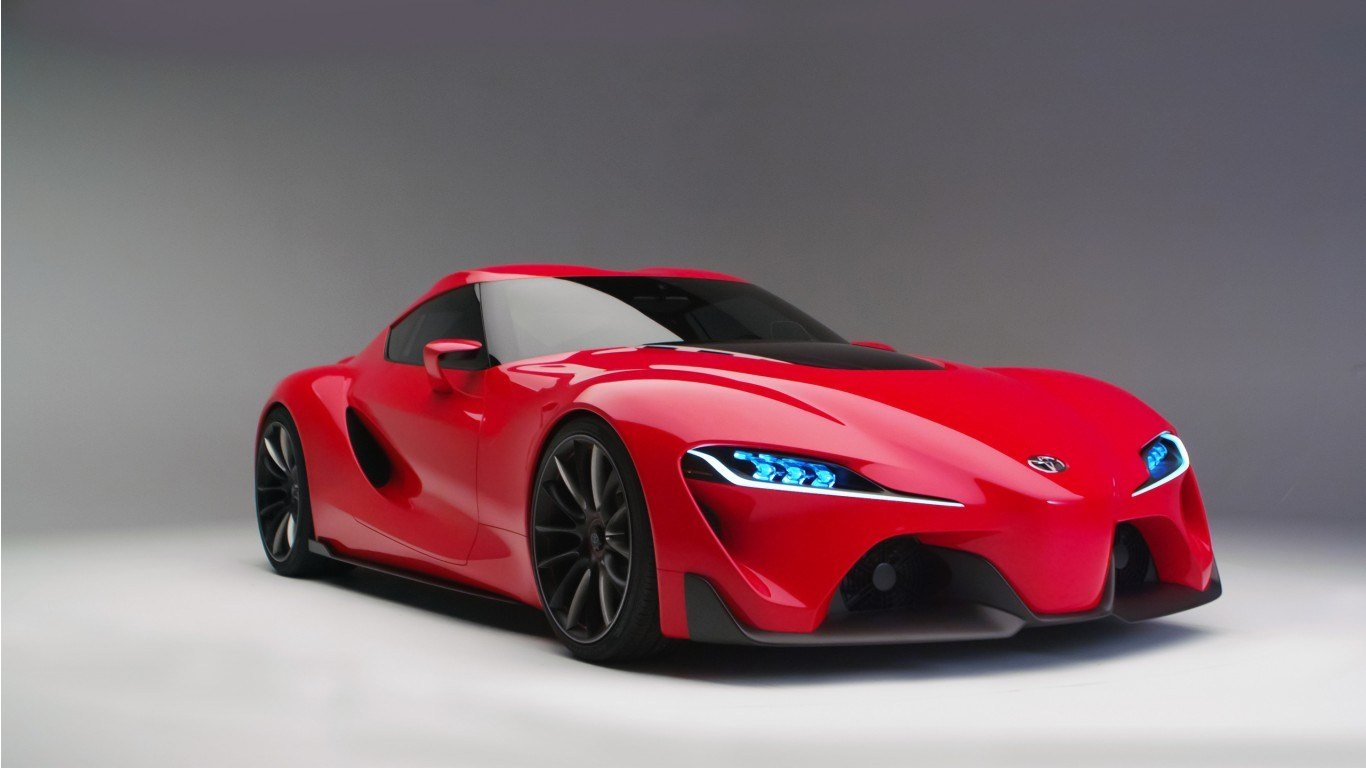 Latest 2016 Toyota Ft1 Concept Wallpaper Hd Car Wallpapers Id Free Download
