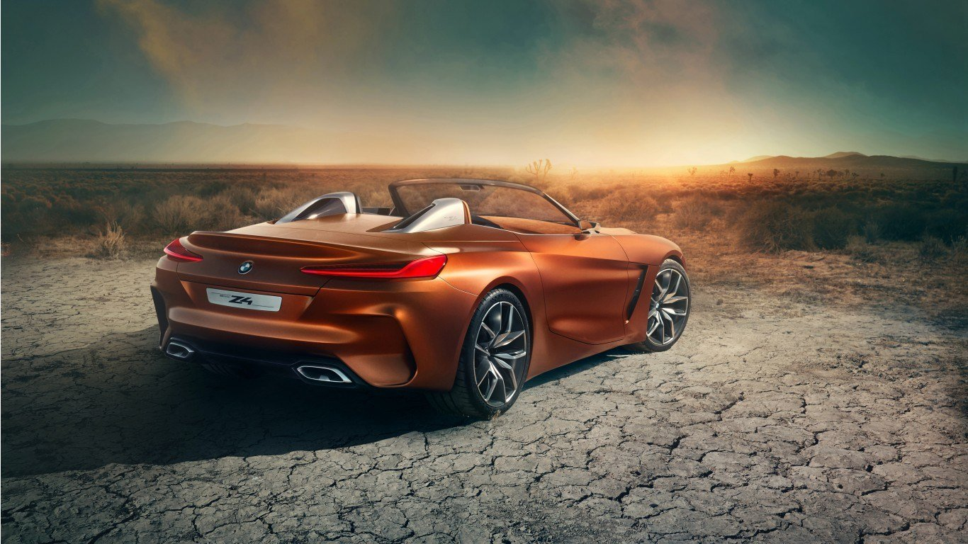 Latest 2017 Bmw Concept Z4 4K 2 Wallpaper Hd Car Wallpapers Free Download