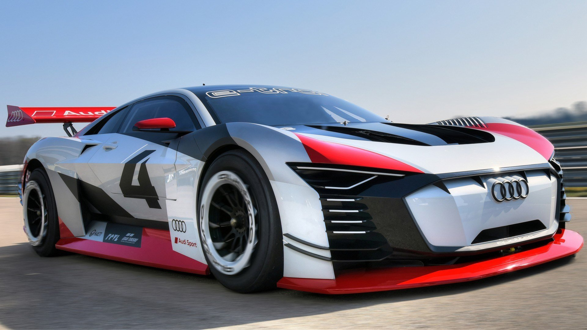 Latest 2018 Audi E Tron Vision Gran Turismo 4K Wallpaper Hd Car Free Download