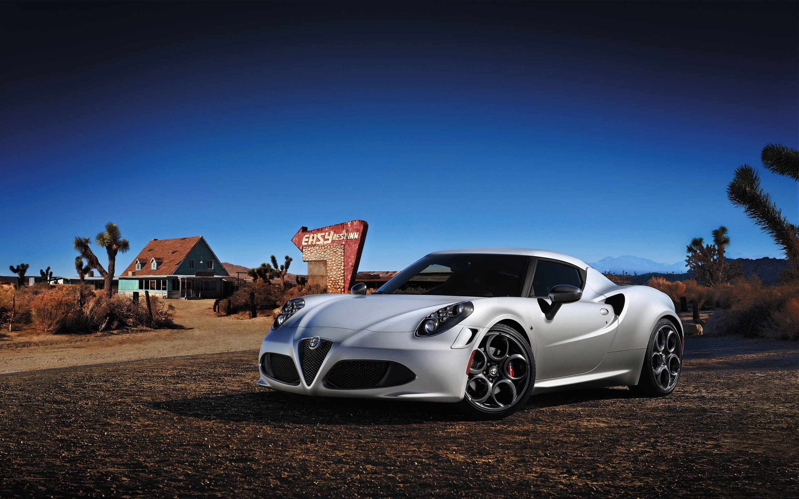 Latest 2014 Alfa Romeo 4C Launch Edition Wallpaper Hd Car Free Download