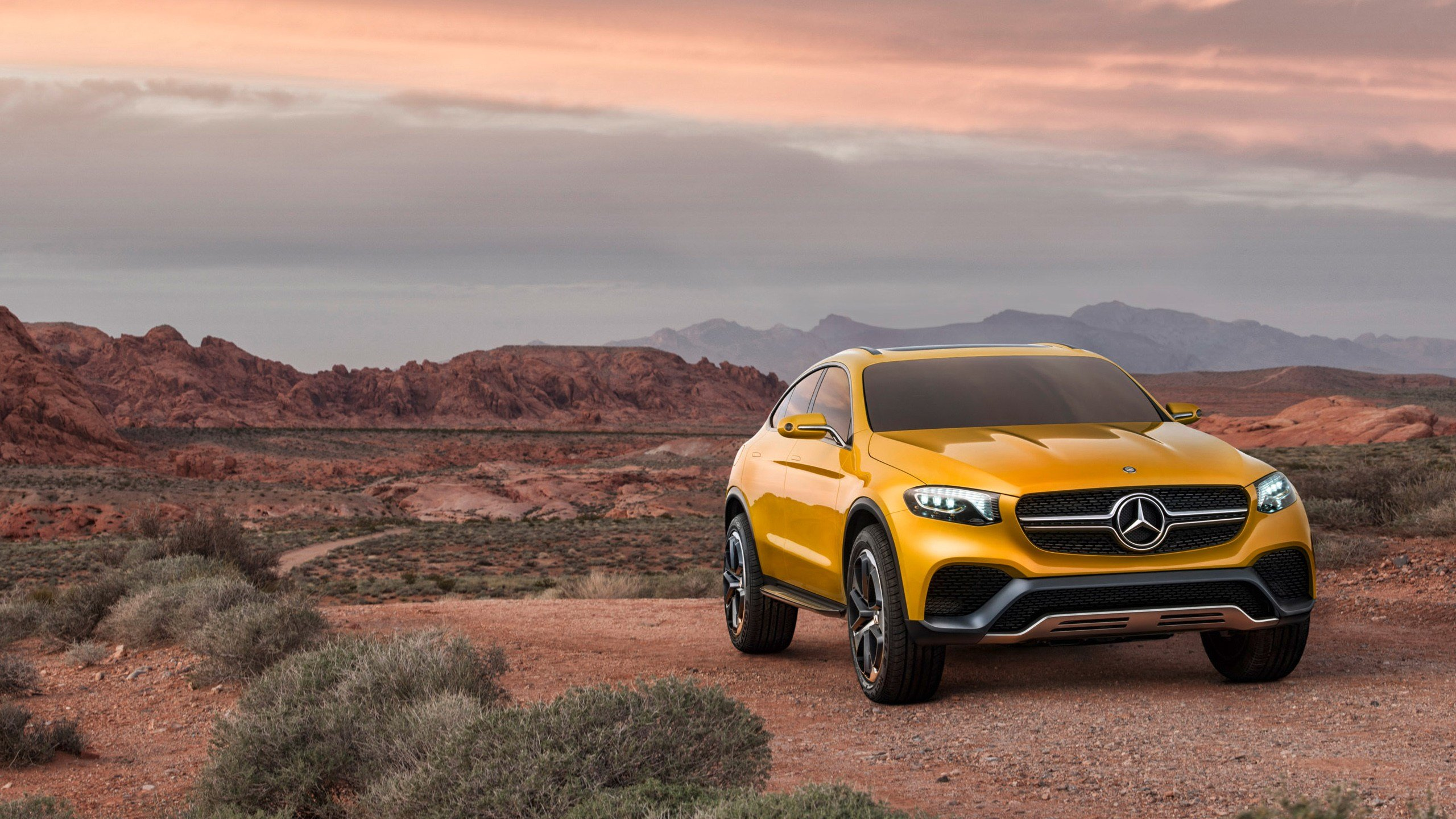 Latest 2015 Mercedes Benz Glc Coupe Concept Wallpaper Hd Car Free Download