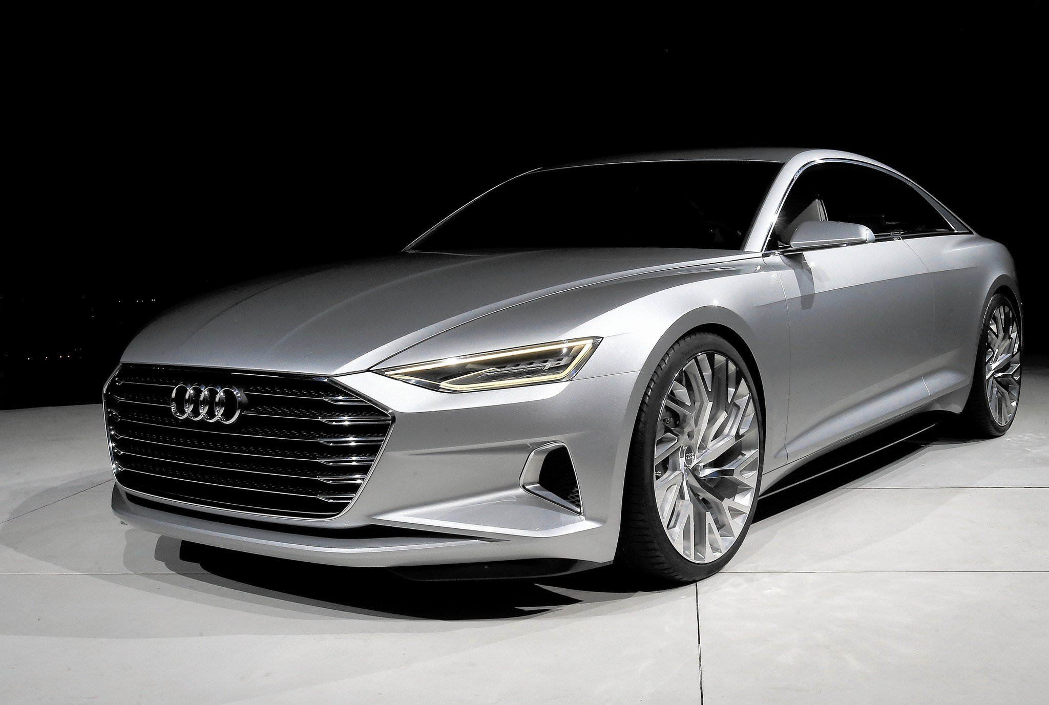 Latest Audi Prologue Concept Car Foreshadows A Sultry Luxurious Free Download